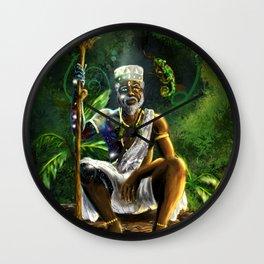 Orunmila Wall Clock
