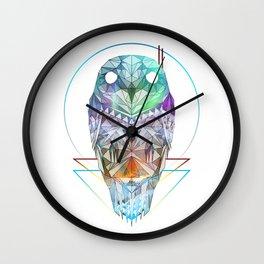 Spirit of the Owl Wall Clock