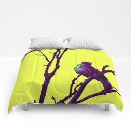 purp hawk Comforters