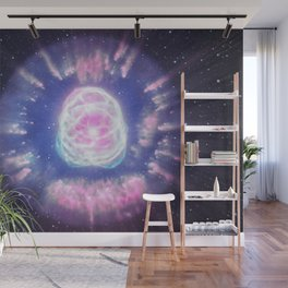 Elliptical Galaxy Eye Wall Mural