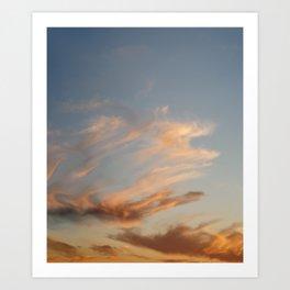 Fiery Sky #2 Art Print