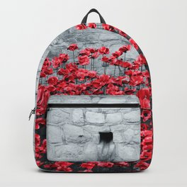 Tower Poppies 02B Backpack