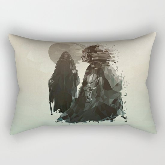 Come to the Dark Side Rectangular Pillow