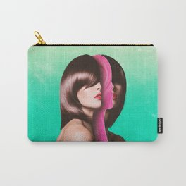 Split Hairs Carry-All Pouch