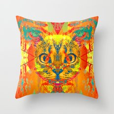 Here Comes the Sun-Lady Jasmine Throw Pillow
