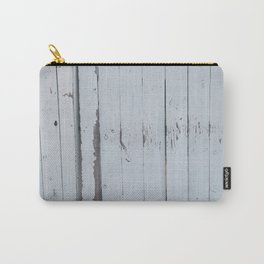 White Fence Carry-All Pouch