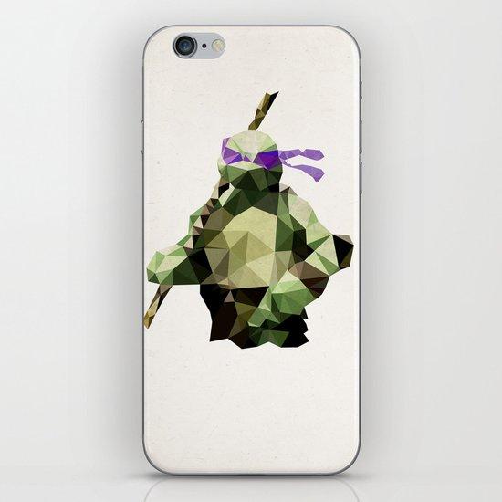 Polygon Heroes - Donatello iPhone & iPod Skin