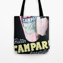 Vintage Italian Campari Bitters Advertisement Tote Bag