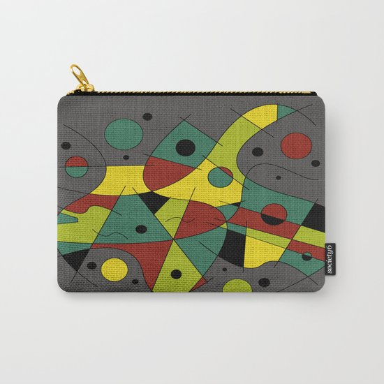Abstract #226 The Cellist #2 Carry-All Pouch