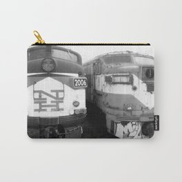 Retired Trains Photography Carry-All Pouch