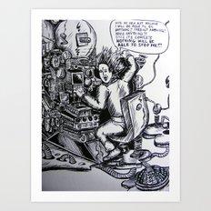 Art machine Art Print
