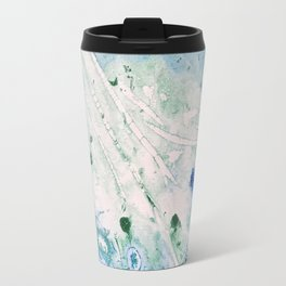 Ocean White Travel Mug