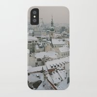 prague iPhone & iPod Cases featuring Prague by BriAnneWills