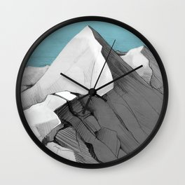 Pirin Mountain Wall Clock