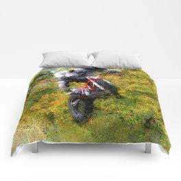 Extreme Biker - Dirt Bike Rider Comforters