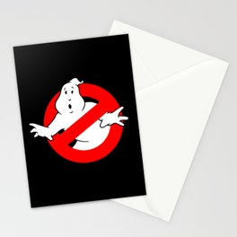 Ghostbusters Black Stationery Cards