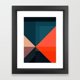 Geometric 1713 Framed Art Print
