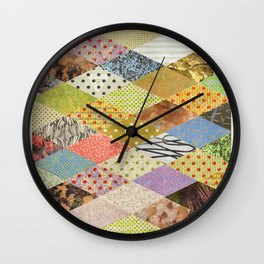 RHOMB SOUP / PATTERN SERIES 002 Wall Clock