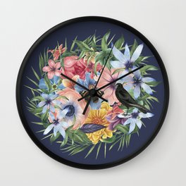 SPRING IV Wall Clock