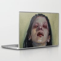 three of the possessed Laptop & iPad Skins featuring Possessed by aaronbmiller.com