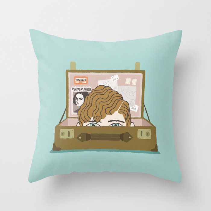 fantastic beasts and where to find them Throw Pillow