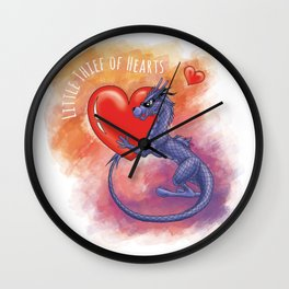 Little Thief of Hearts Wall Clock