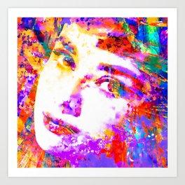 Colorful Life, Audrey Hepburn Art Print