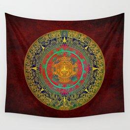 Aztec Sun God Wall Tapestry