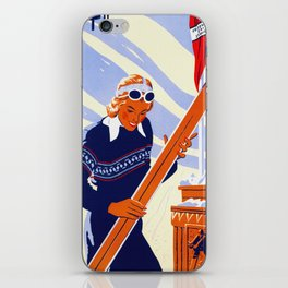 Yosemite Winter Sports Travel iPhone Skin