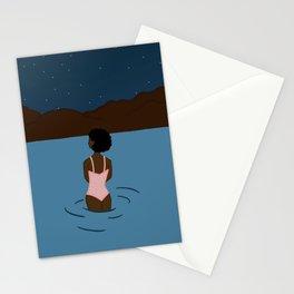Sam the astronomer Stationery Cards