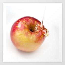 Apple and Honey Art Print