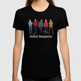 The Usual Suspect casual fashion style T-shirt