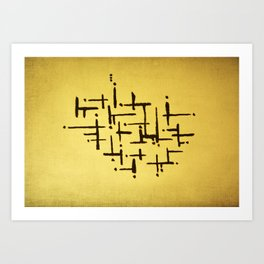 graphyc Art Print