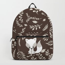 FOX AND LEAVES Backpack