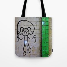 Jump Rope Street Art Tote Bag