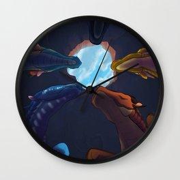 Hole sky Wall Clock