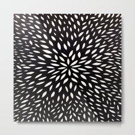 White Floret Metal Print