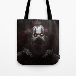 Killer Clown Tote Bag