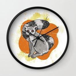Lemur Distressed Wall Clock