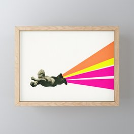 Superhero Framed Mini Art Print