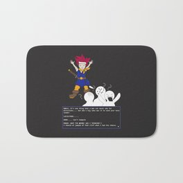 Chrono Lost Bath Mat