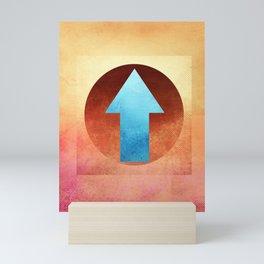 Arrow Composition III Mini Art Print