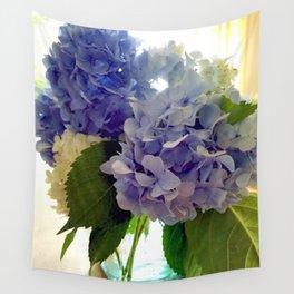 Hydrangea Bouquet Wall Tapestry
