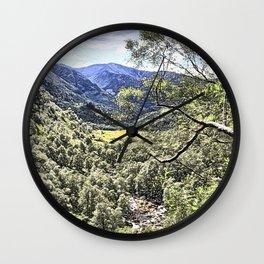 Nevis Gorge Wall Clock