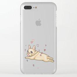Cutie Patootie Clear iPhone Case