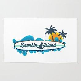 Dauphin Island - Alabama. Rug