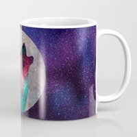 howl Mugs featuring Howl by vivajcious