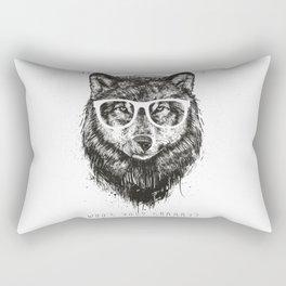 Who's your granny? (b&w) Rectangular Pillow