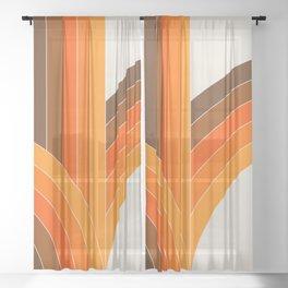 Bounce - Golden Sheer Curtain