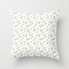 orange - subtle pattern Throw Pillow